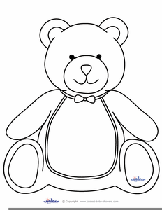 graphic library download Teddy free images at. Clipart bear black and white