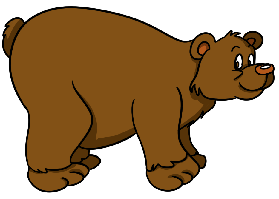 vector transparent library Free cute clip art. Big clipart bear hunt.