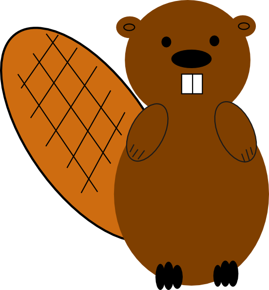 image transparent download Beaver No Smile Clip Art at Clker