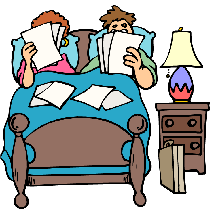vector freeuse download Waking clipart bangun. Together in bed .