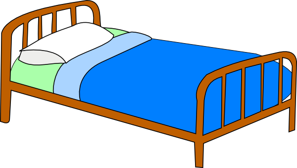 transparent stock Free Bed Cliparts