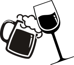 image royalty free library Beer clipart spilt. Root wine free on.