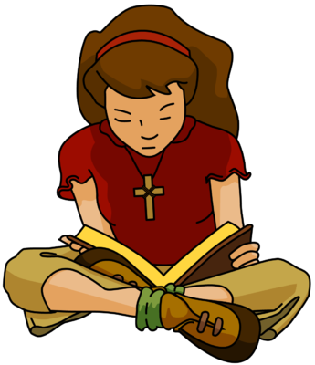 clipart free read the bible clipart #58041192