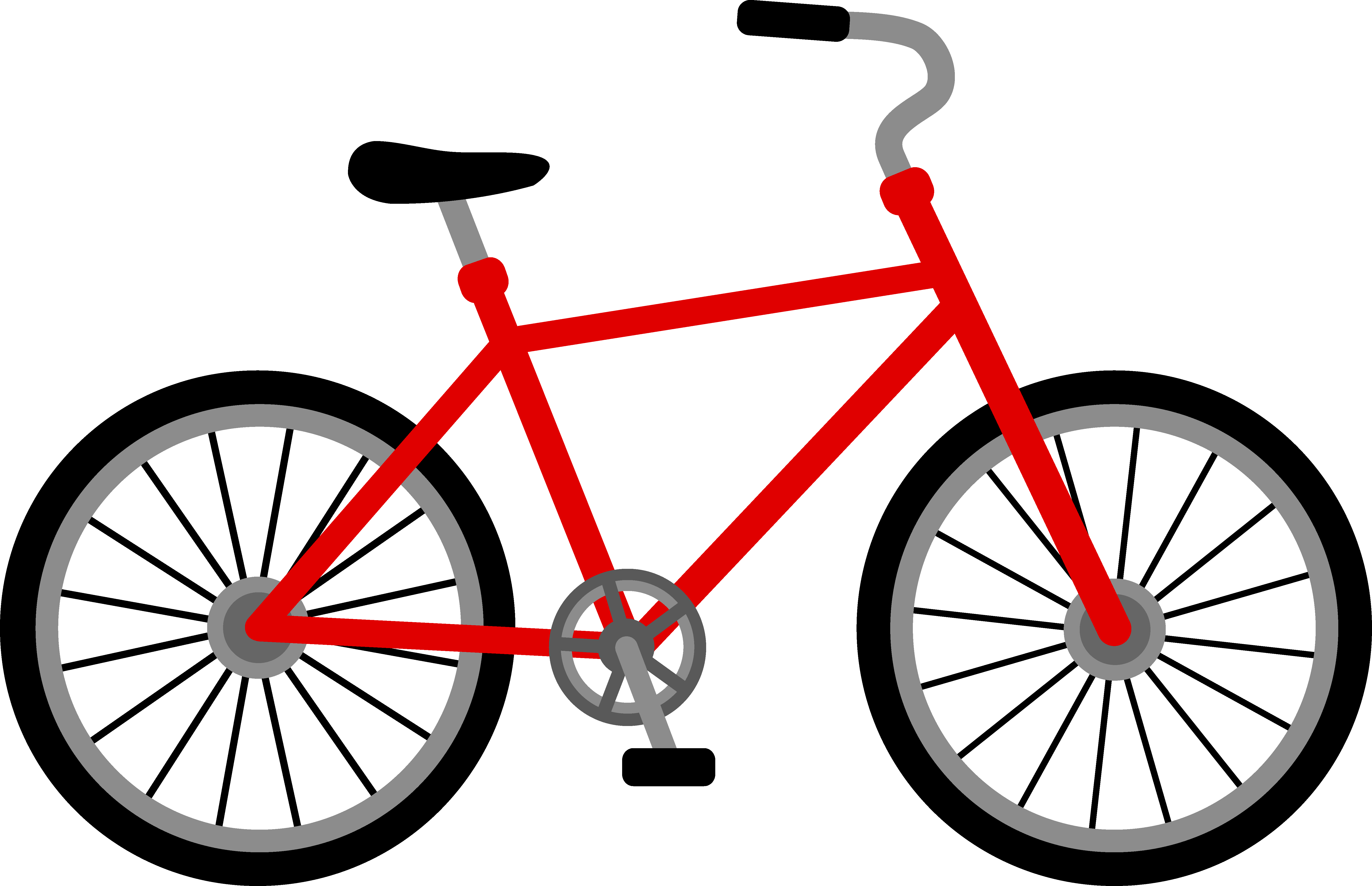 graphic royalty free library Bicycle Clip Art