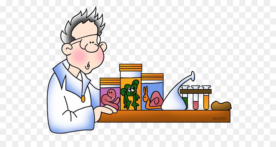 clip art transparent download Science cartoon . Clipart biology.