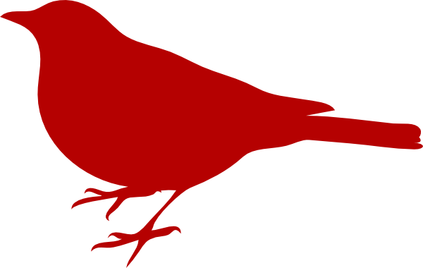 clip art library download Red Bird Clip Art at Clker