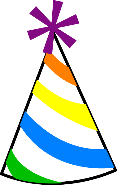 graphic black and white library Party hat at getdrawings. Clipart birthday