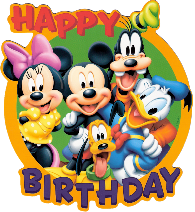 free Clipart birthday. Mickey mouse disney wikiclipart