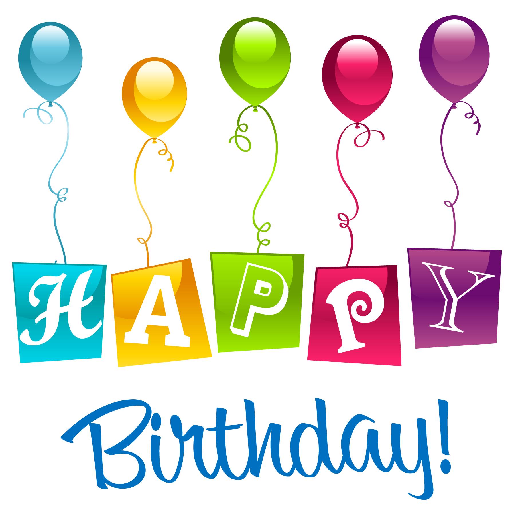 jpg library stock Happy Birthday PNG Clipart Picture