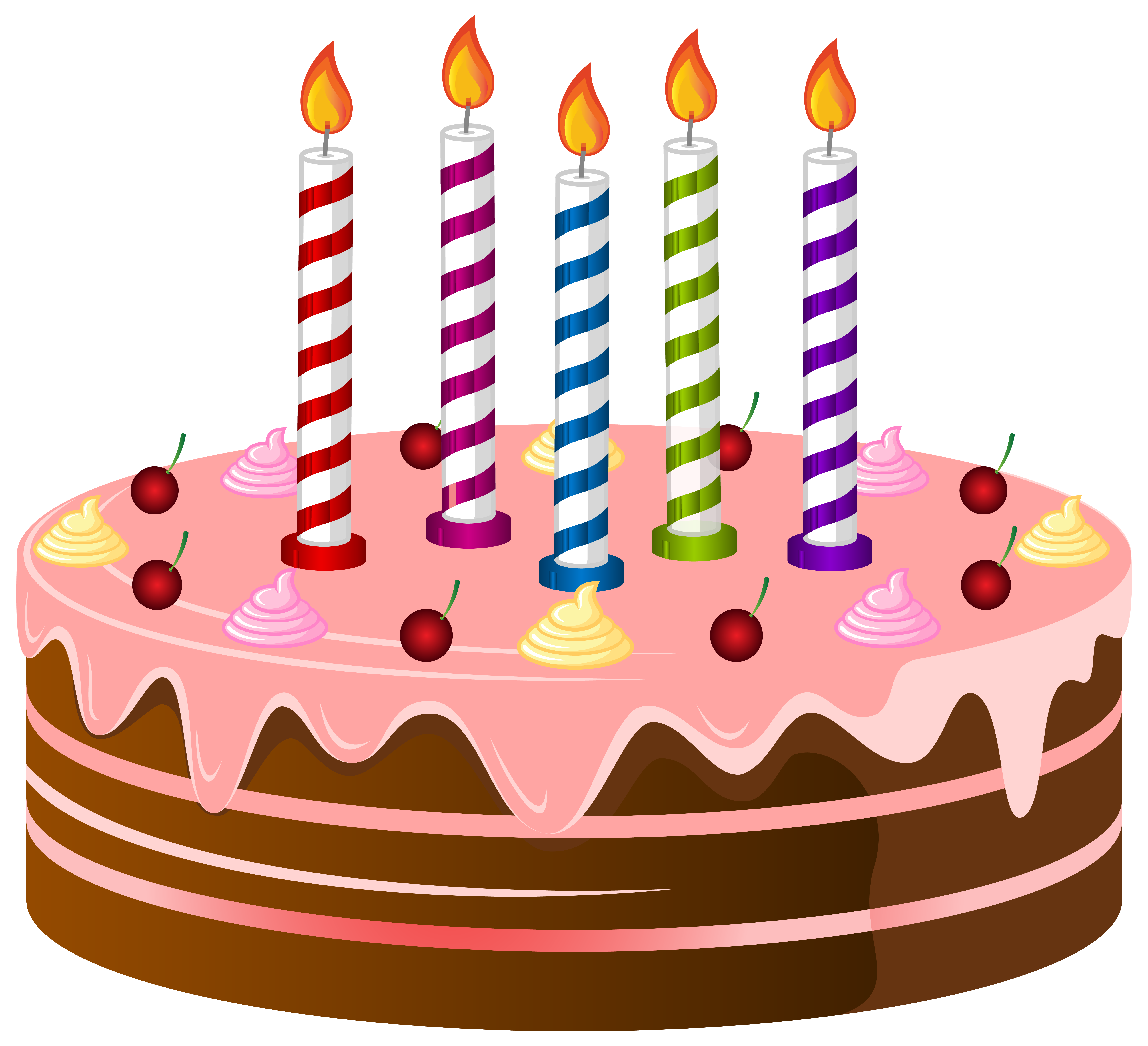 freeuse library Cocao birthday cake png. Baked goods clipart clip art.