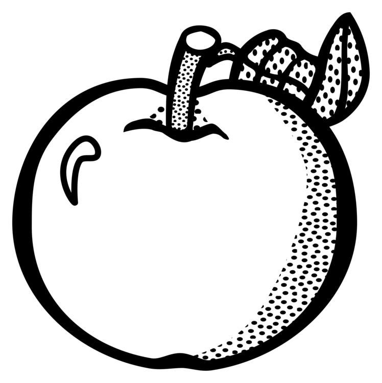 free Fruit apple food drawing. Vector apples lineart