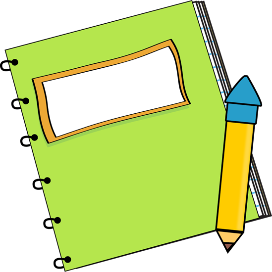 picture freeuse Cute Book And Pencil Clipart