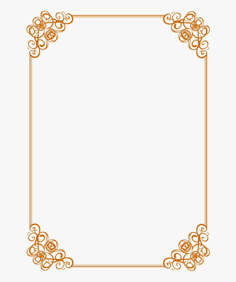 picture royalty free library Clipart borders. And white background with