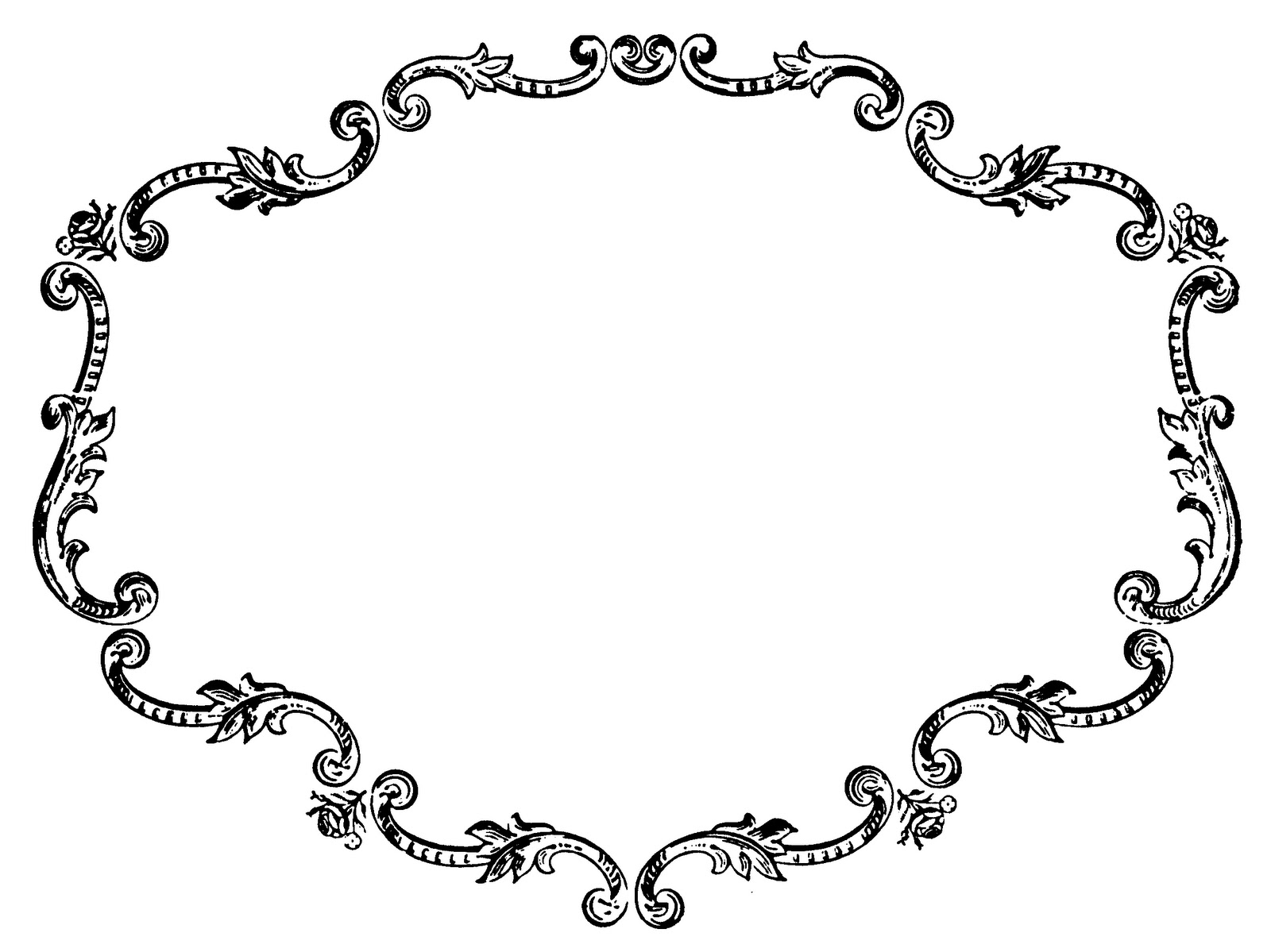 image Border free images . Clipart borders vintage