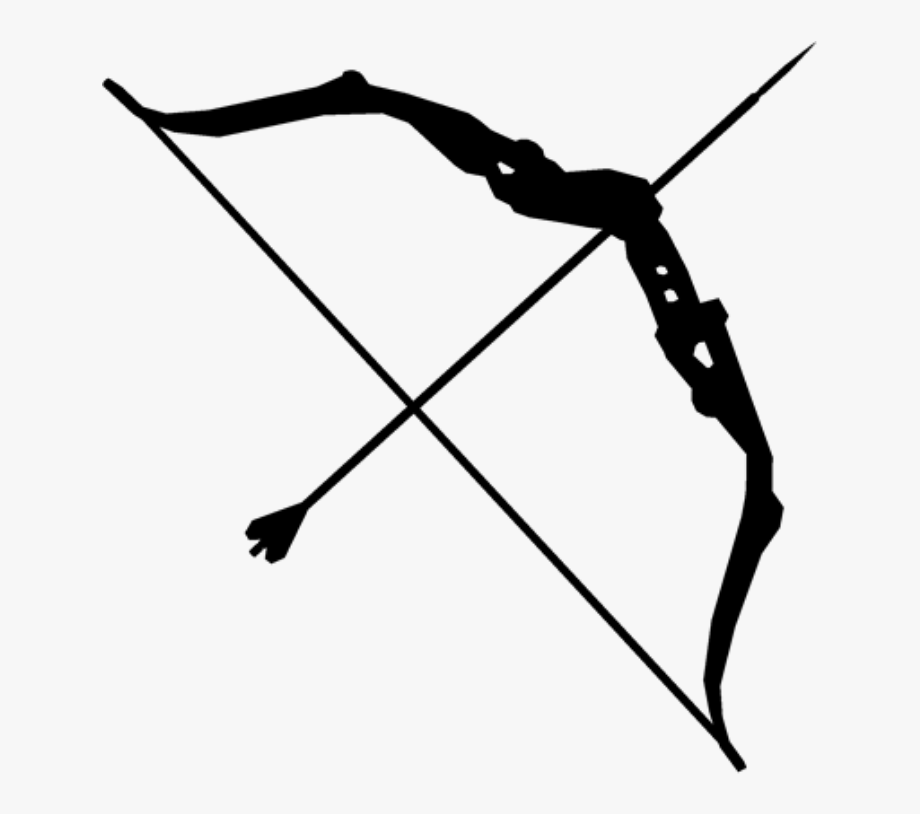 picture transparent Png without a background. Clipart bow and arrow