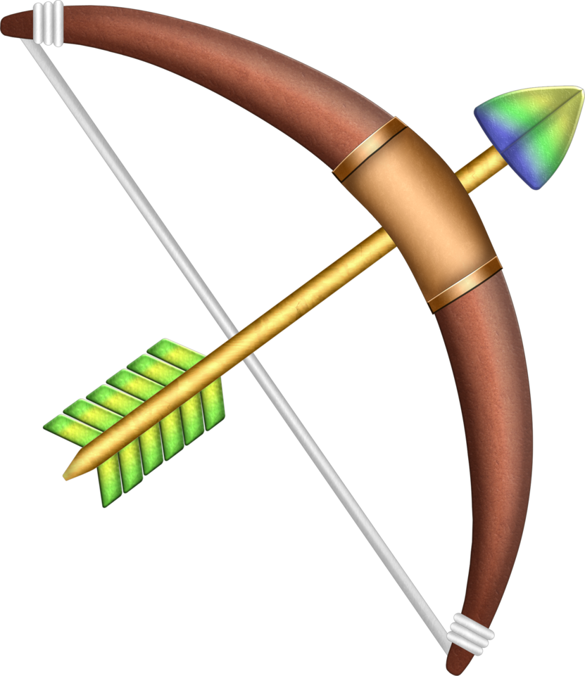 royalty free stock Alttp by blueamnesiac on. Clipart bow and arrow