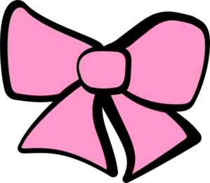 svg transparent library Hair Bow Pink Clip Art at Clker