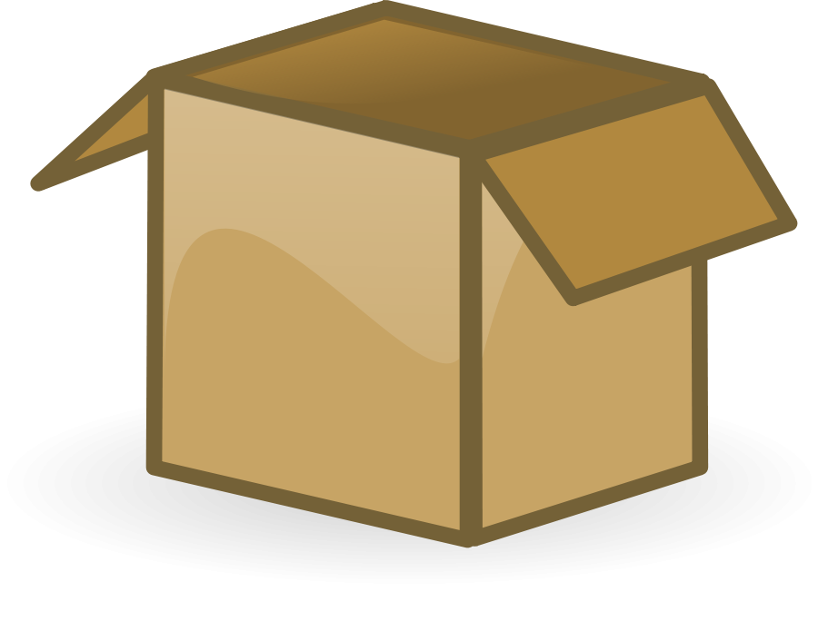 png free stock Box Clipart