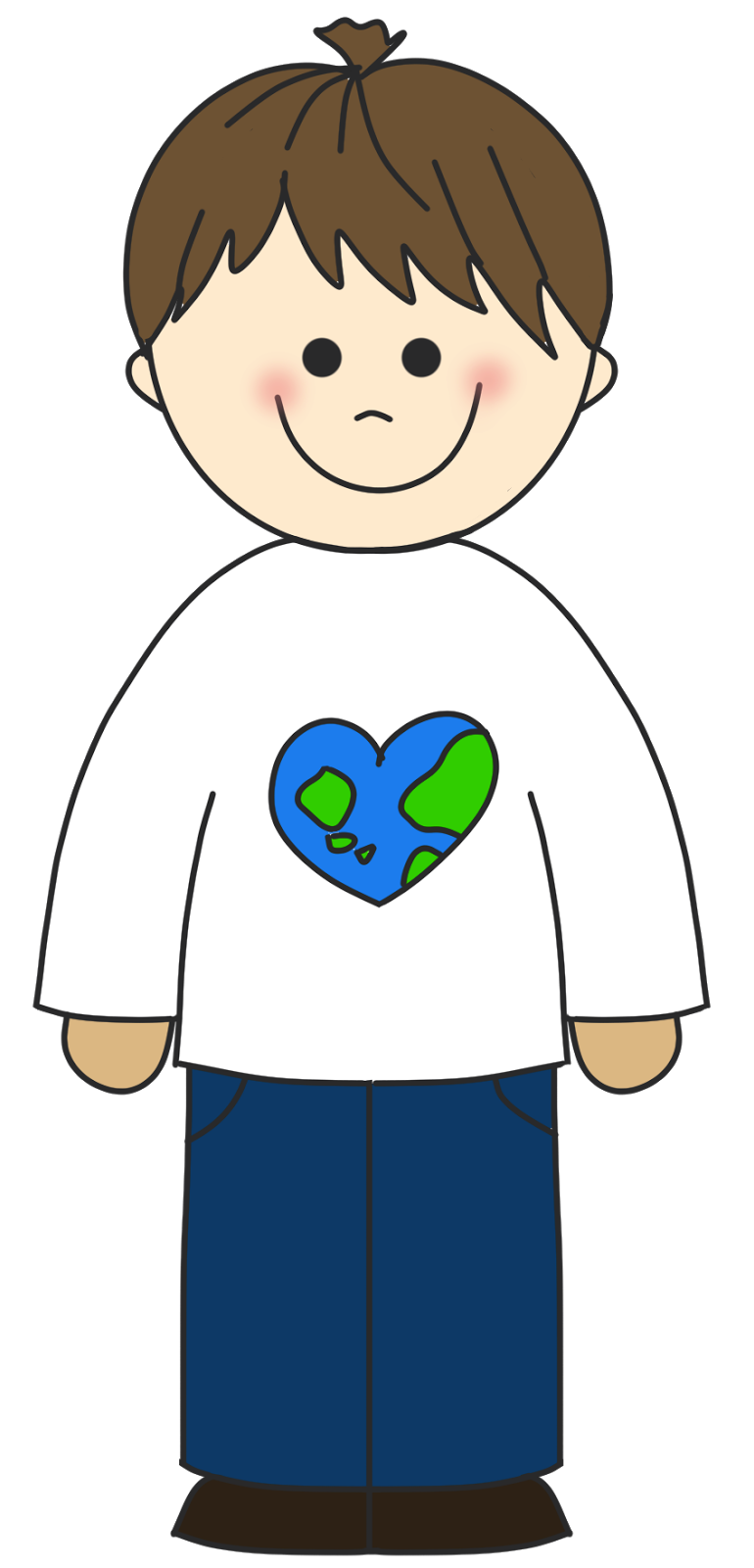 picture freeuse download Free boy cliparts download. Calm clipart cartoon.