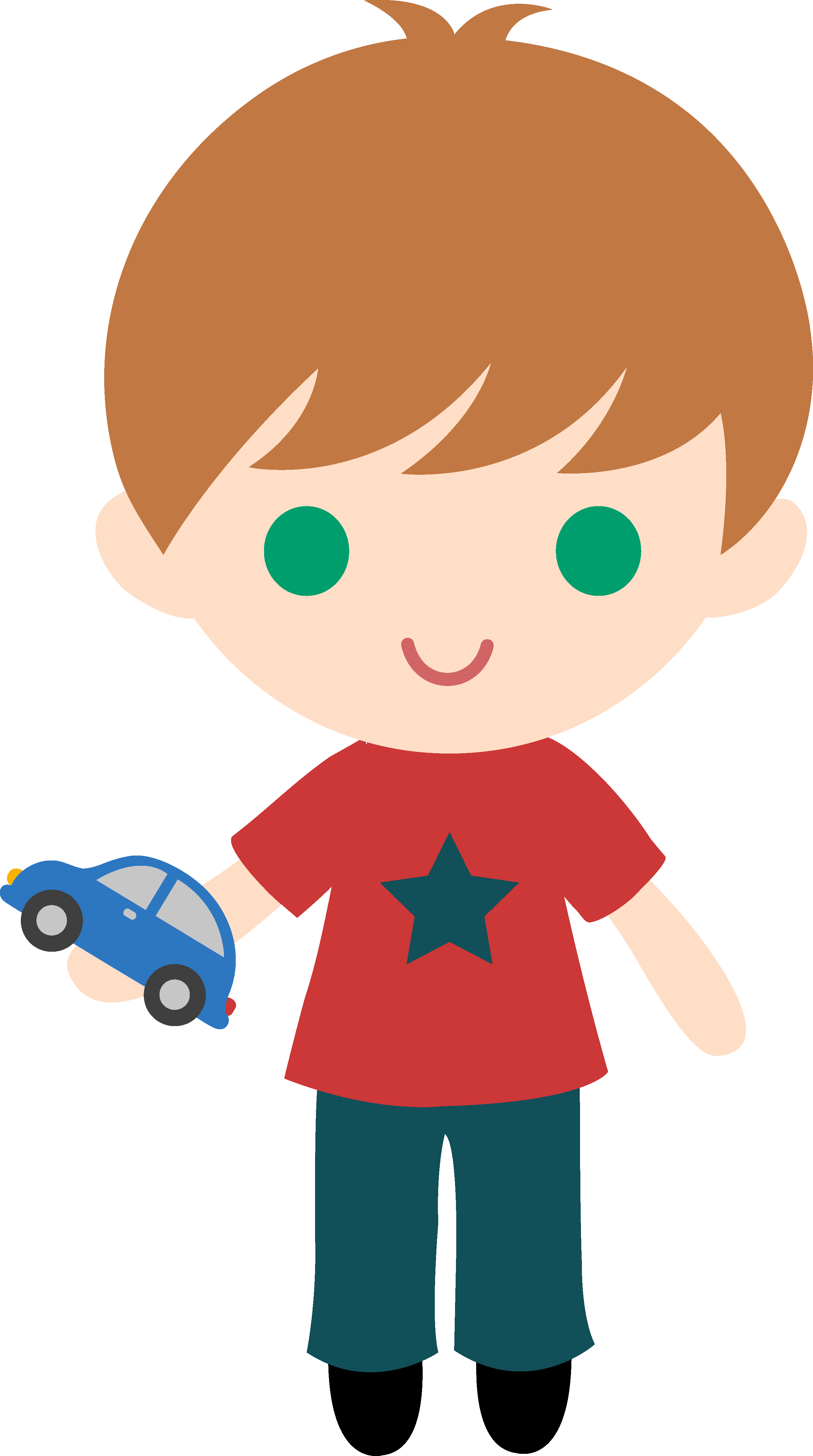 graphic free download Evade clip. Boy with toy car