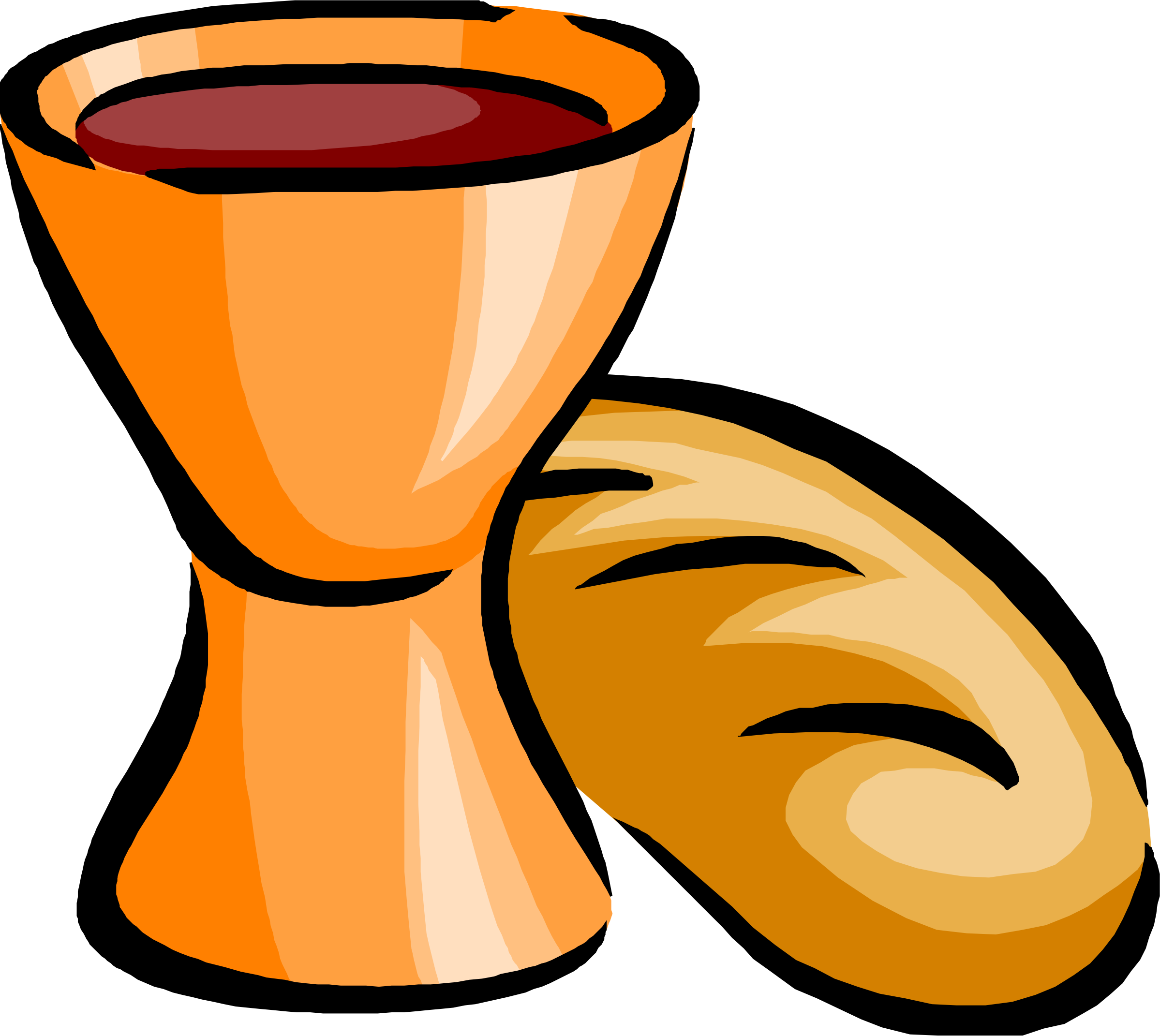 image stock Chalice clipart goblet. Bread and wine big.