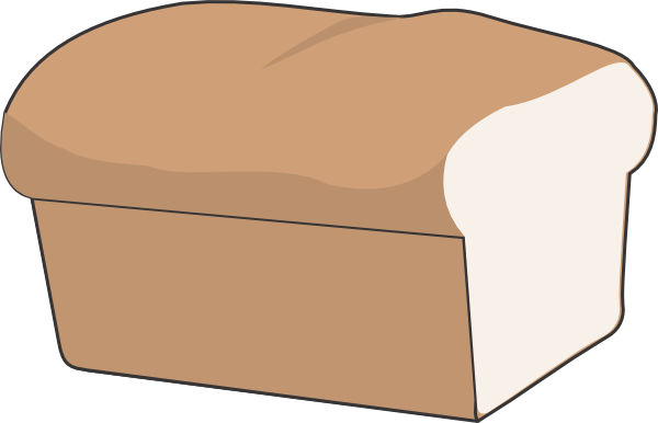 graphic library stock loaf of bread clipart loaf of bread with no separate pcs clip art at
