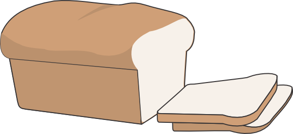 svg transparent stock Loaf Of Bread Clip Art at Clker