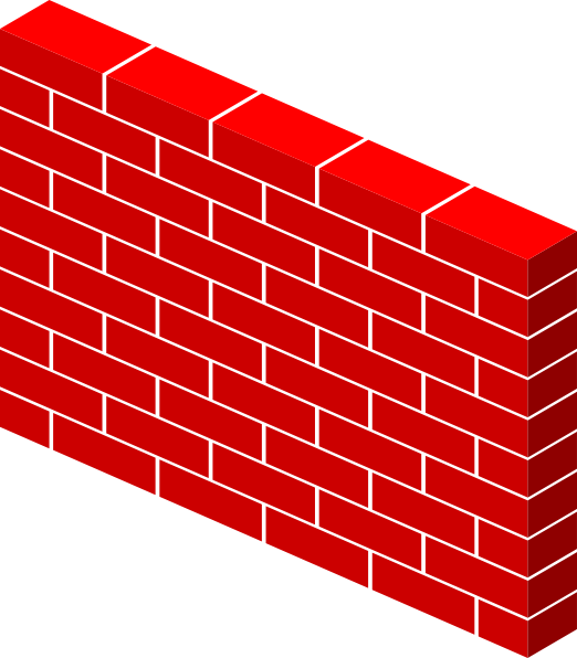 jpg library Wall Bricks Clip Art at Clker