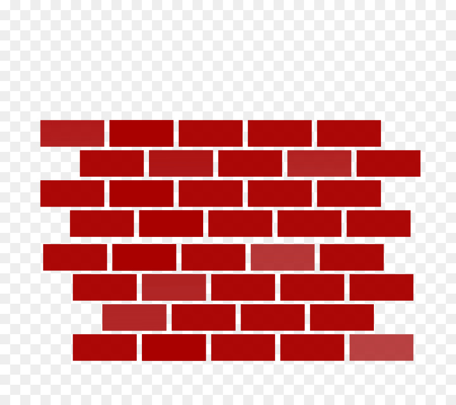svg transparent stock Clipart brick wall. Red background transparent clip