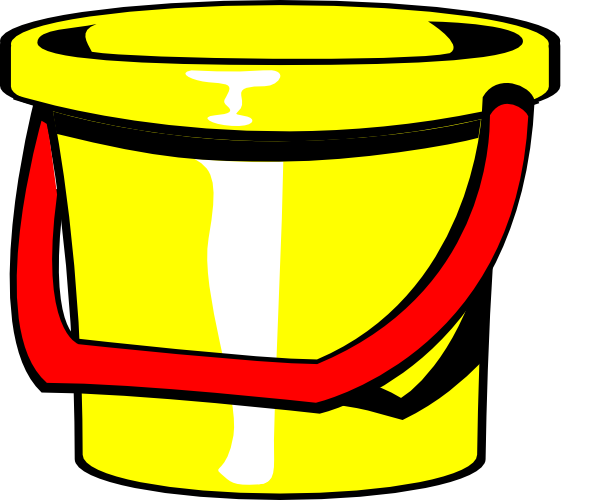 clipart transparent Bucket Yellow Clip Art at Clker
