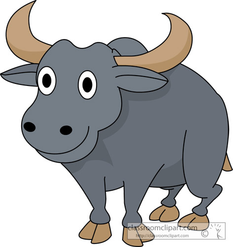 vector freeuse download Free download clip art. Clipart buffalo.