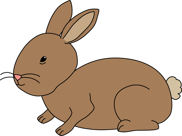 clip black and white library Bunny Rabbit Free Clipart