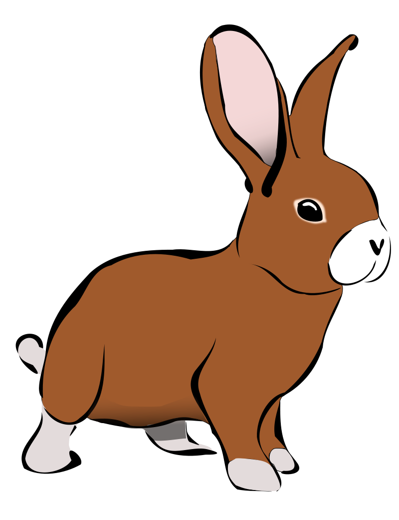 clip art royalty free stock Cute Bunny Clipart