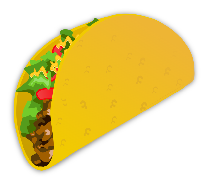 picture transparent Tacos clipart burito. Taco salad mexican cuisine.