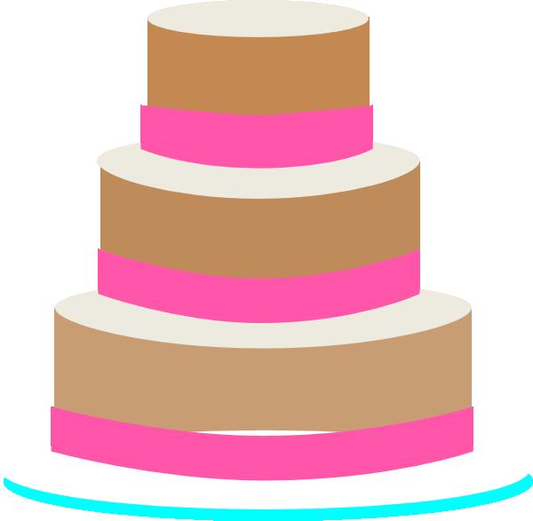 jpg library library Wedding Cake clip art