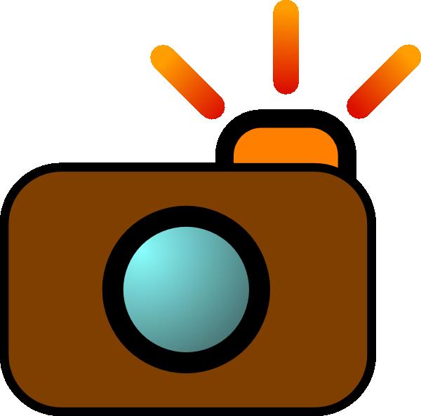 svg transparent stock Camera Brown Clip Art at Clker