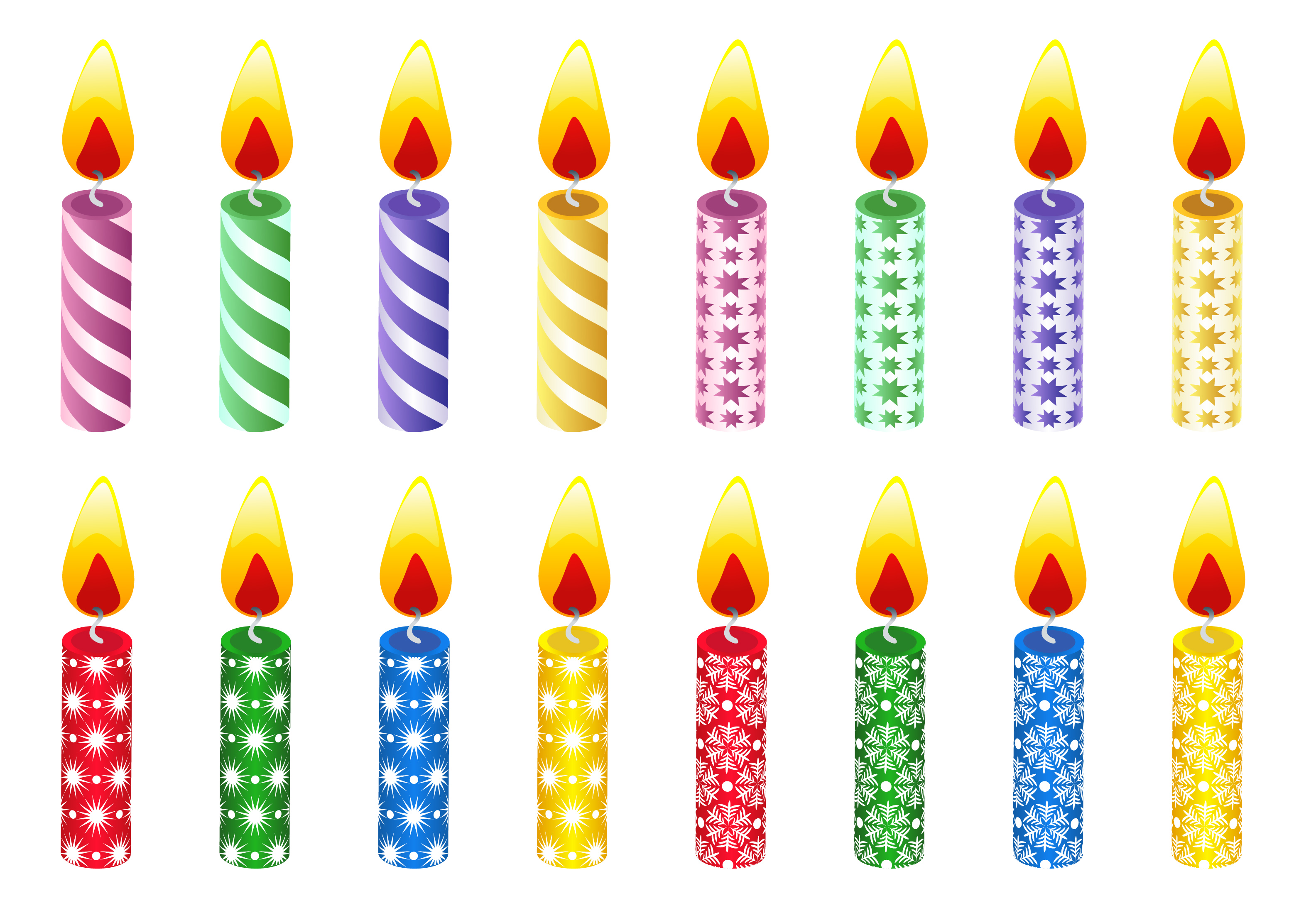 clip art black and white Free candle cliparts download. Clipart candles.