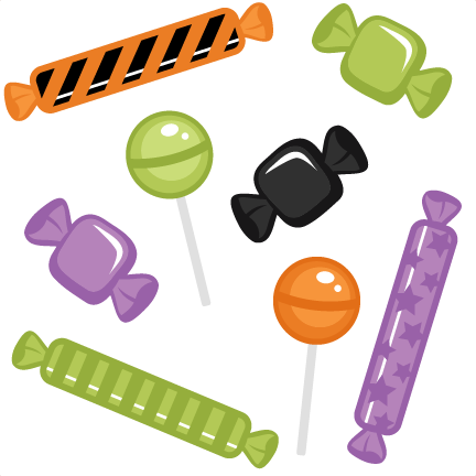 graphic library download Halloween candy clip art halloween candy clipart