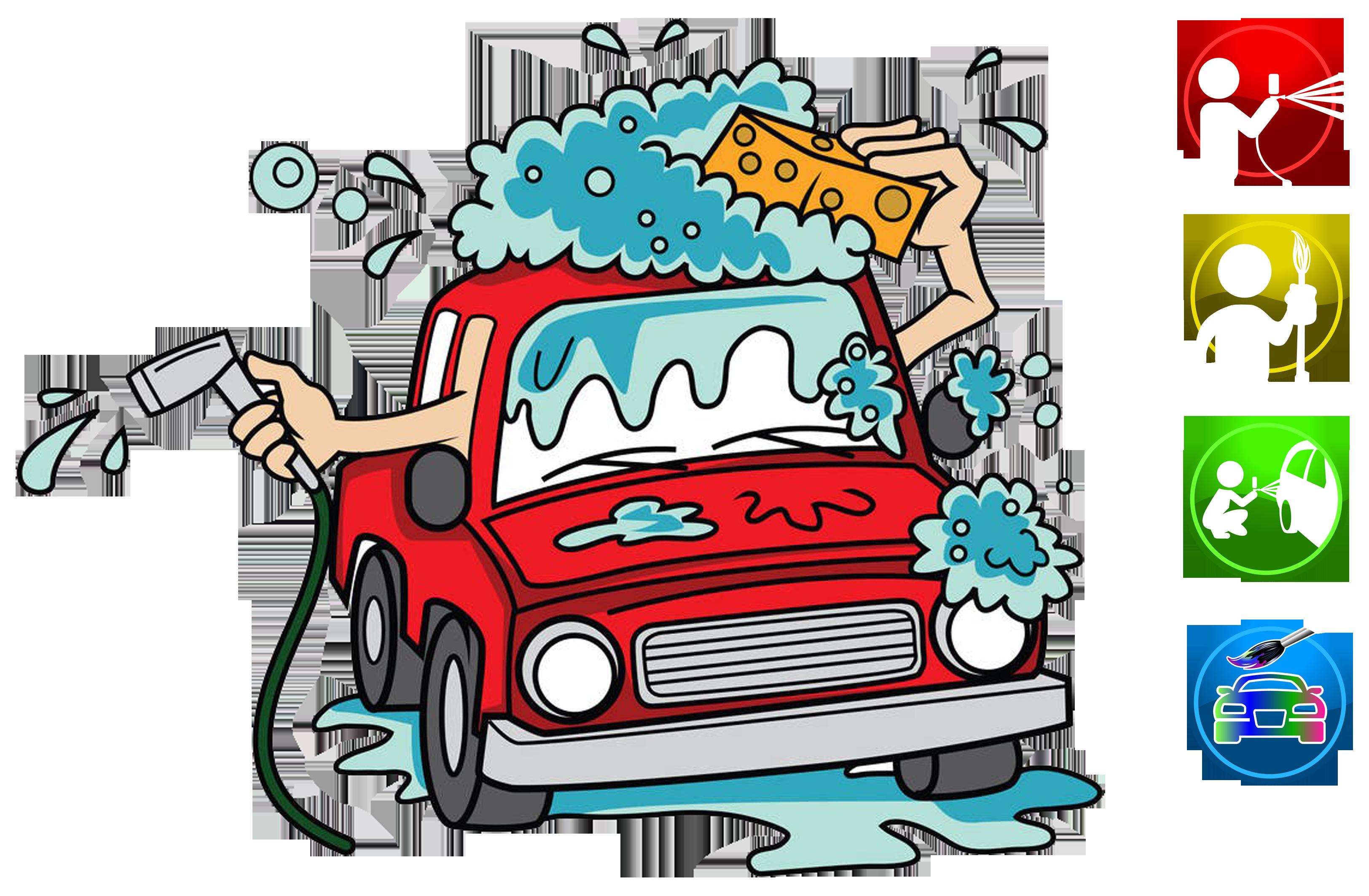 clip royalty free download Car wash cartoon clip. Washing clipart carwash