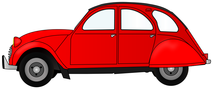 graphic library red car clipart #60497025