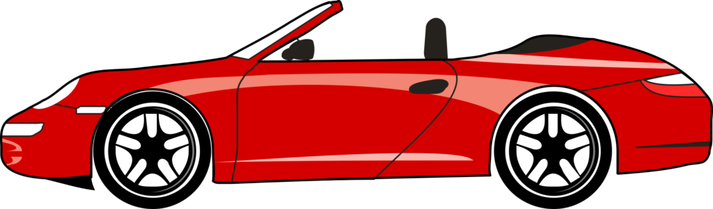 vector free download Racecar clipart side view. Car red free on.