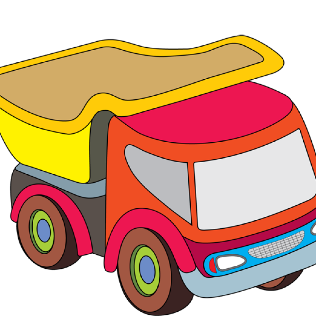 vector transparent library Toy Car Clipart