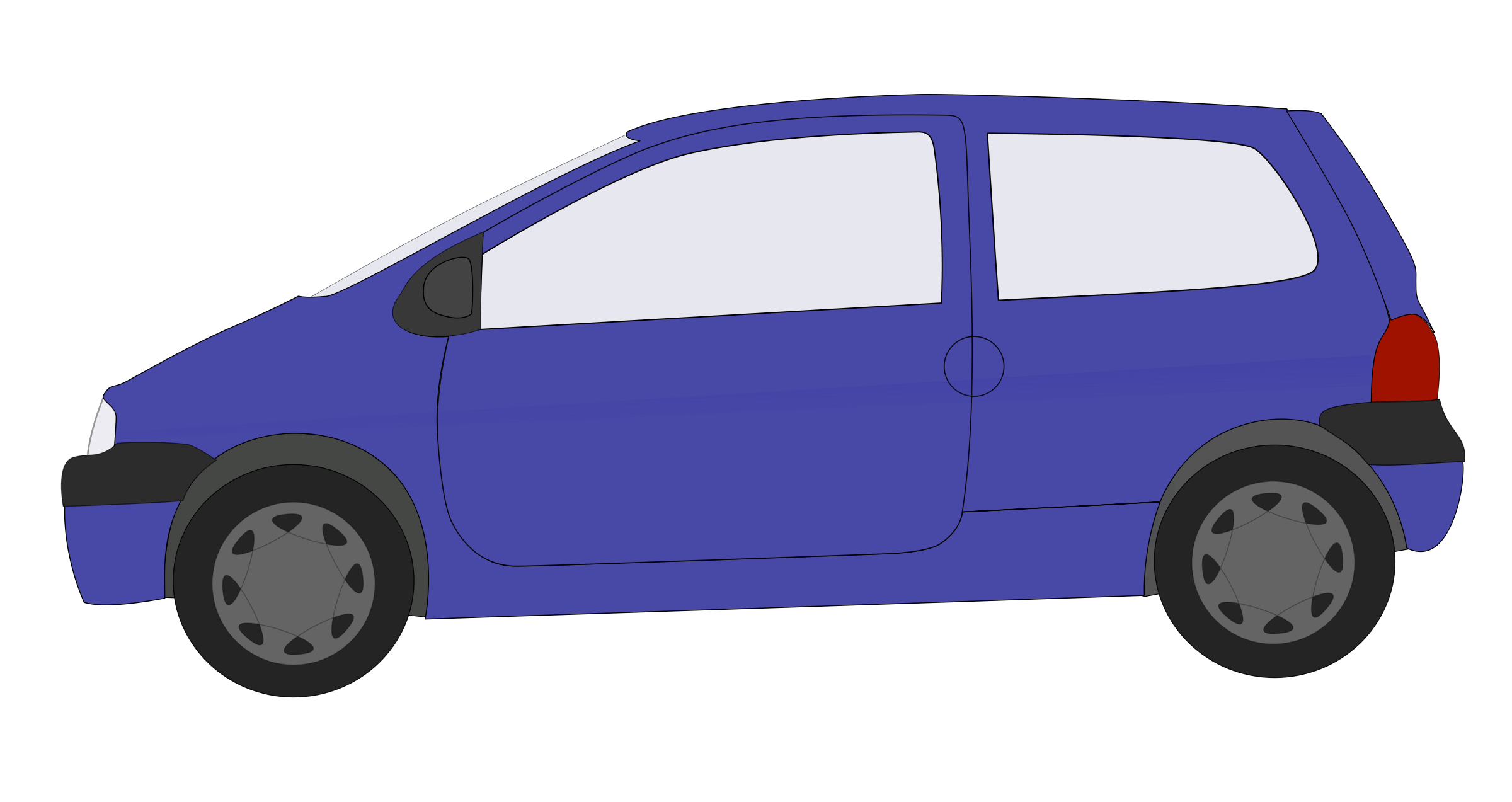 picture library stock Blue car clipart line. Minivan drawing