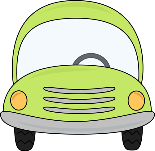 library Clip art images green. Car clipart square.
