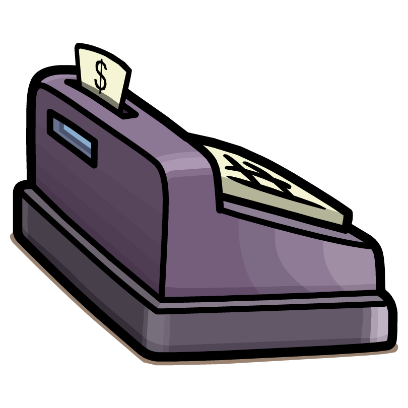 clipart royalty free clipart cash register #60625737