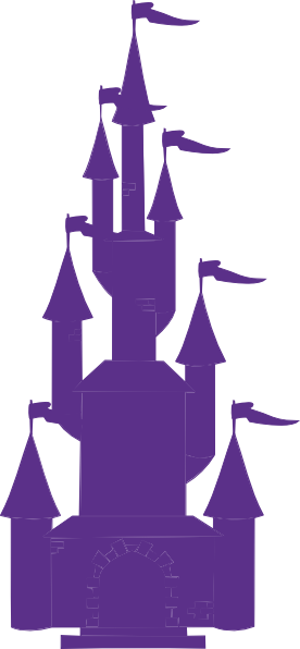 png freeuse stock Purple Castle clip art