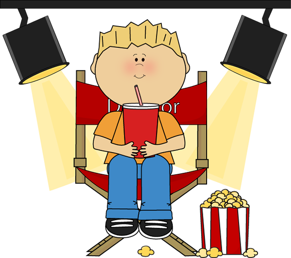 picture black and white download Boy sitting in directors. Writer clipart author's chair
