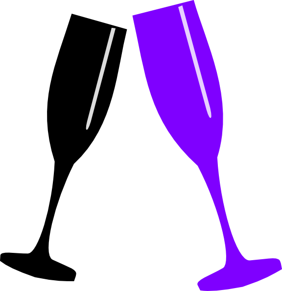 clip art library download Glass clip art at. Clipart champagne glasses.