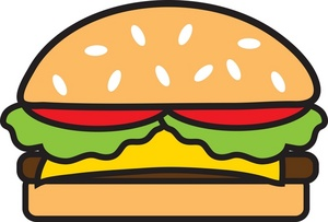 jpg freeuse library Free cliparts download clip. Clipart cheeseburger.
