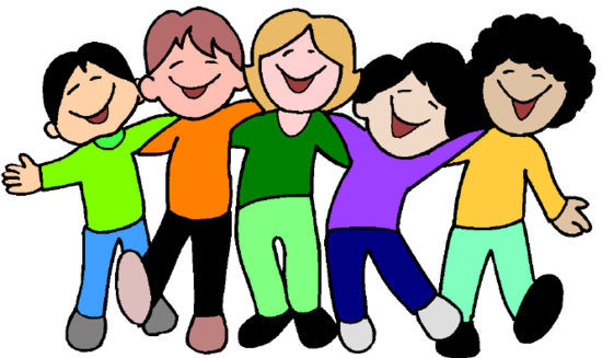 jpg black and white library Free happy children download. Be kind clipart